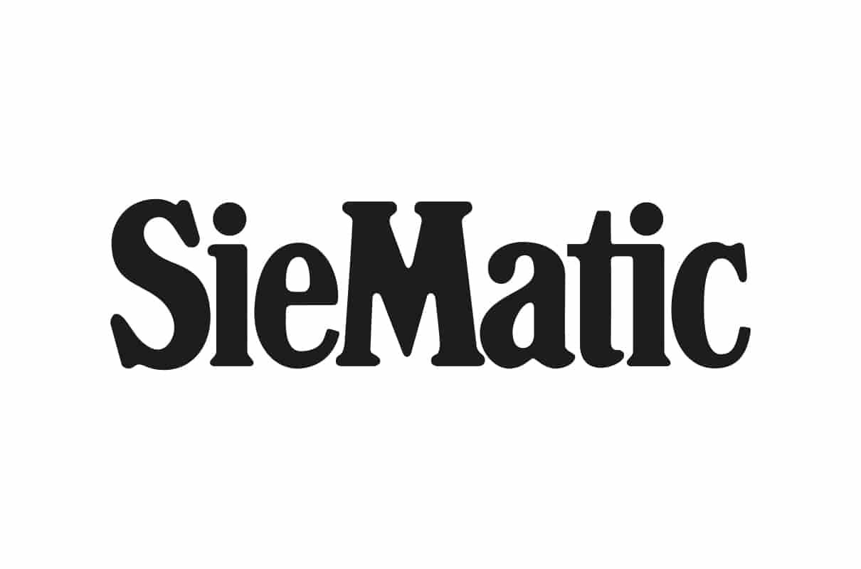 Das Logo der Firma Siematic.