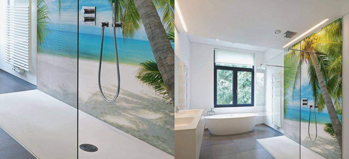 wandpaneele bad fliesenloses bad dusche ohne fliesen. Black Bedroom Furniture Sets. Home Design Ideas